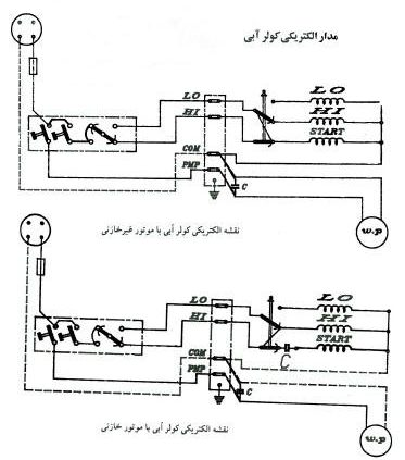 Electric circuit of water cooler