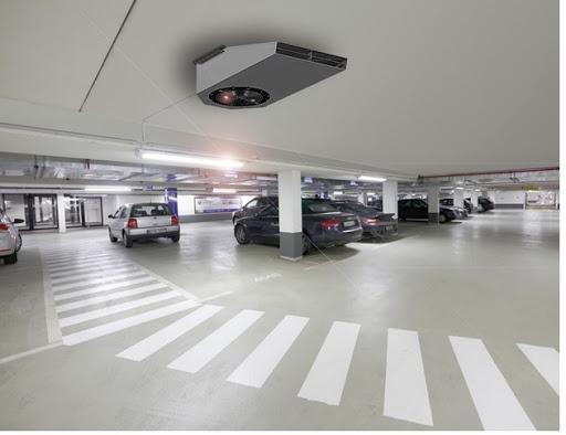 تهویه پارکینگ ها ی زیرزمینی