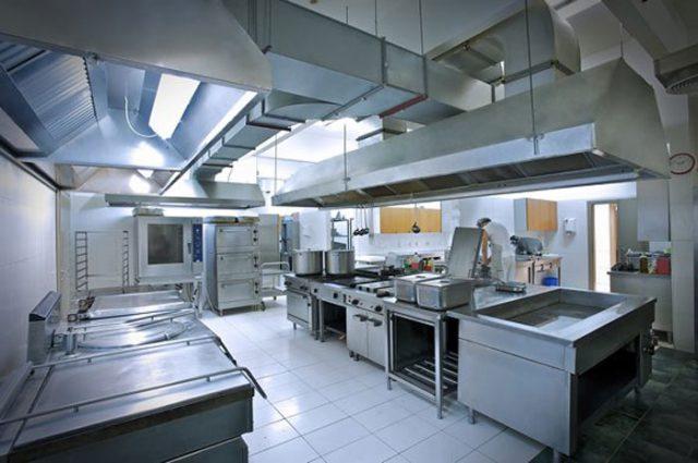 انواع روش های تهویه آشپزخانه صنعتی