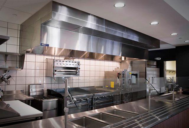 هود آشپزخانه صنعتی چگونه باید باشد؟